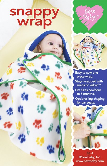 Snappy Wrap Baby Pattern-sew baby, sewbaby, snappy wrap, pattern, patterns, swaddling, baby, newborn, sewing, blanket, snowsu