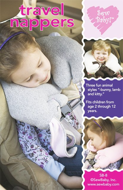 Easy Travel Pillows-Easy Travel Pillows by Sew Baby