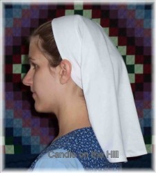 Slip-on Veil Pattern-headcovering, headcover, headcovers, habit, veil, veilings, nuns habit, pattern, patterns, prayer