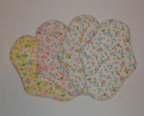 SS Flannel Sherpa Cloth Pads-Simply Soft Flannel Sherpa Cloth Pads