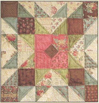 Grandma's Attic Quilt Pattern-Grandma's Attic Quilt Pattern