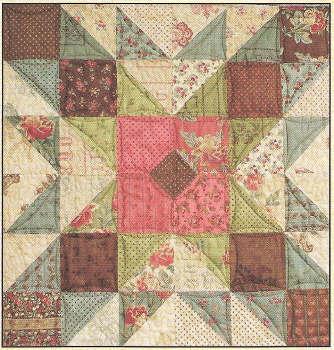 Grandma's Attic Quilt Pattern