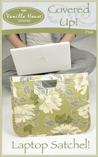 Covered Up! Laptop Satchel!-Covered Up! Laptop Satchel!