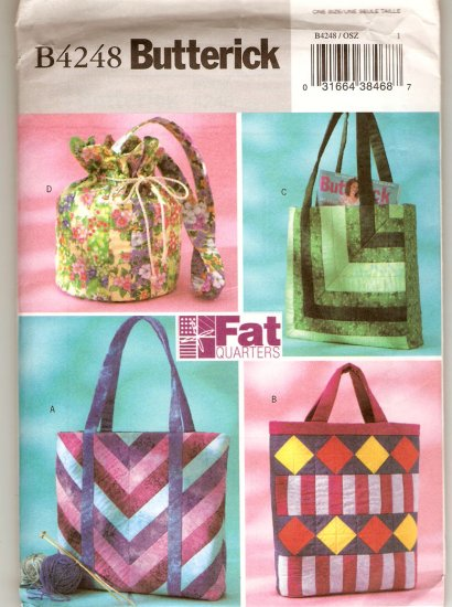 Fat Quarters Totes & Bags-Fat Quarters Totes & Bags