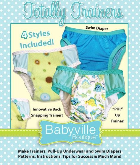 Babyville - Totally Trainers pattern booklet-Babyville - Totally Trainers pattern booklet
