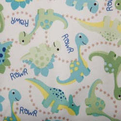 PUL Fabric - Baby Dinos print-PUL Fabric - Baby Dinos print