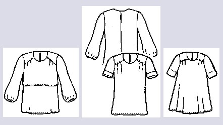 """Gracefull"" Blouses Pattern"
