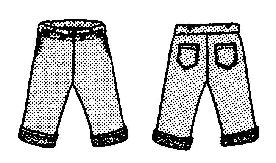 Boys Broadfall Pants Pattern