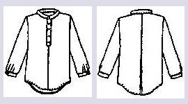 Boys Placket Shirt Pattern