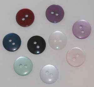 "Buttons - 5/8"" Smooth"