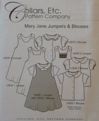 Mary Jane Jumpers & Blouses, sizes 2-5-Mary Jane Jumpers & Blouses, sizes 2-5