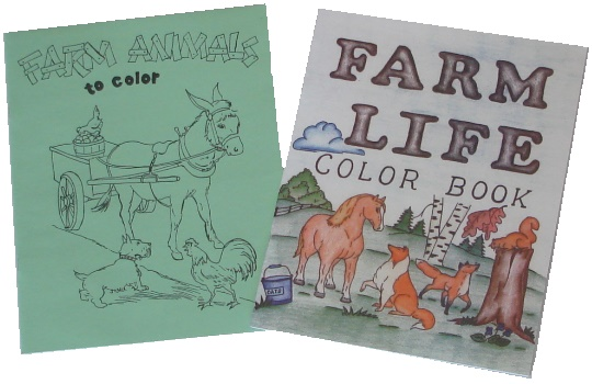 Farm Coloring Books-Farm Coloring Books