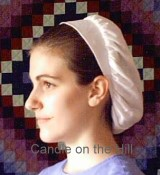 Cloth Snood Pattern-snood, snoods, snood pattern, sewing, brimmed snood, headcovering, sewing pattern