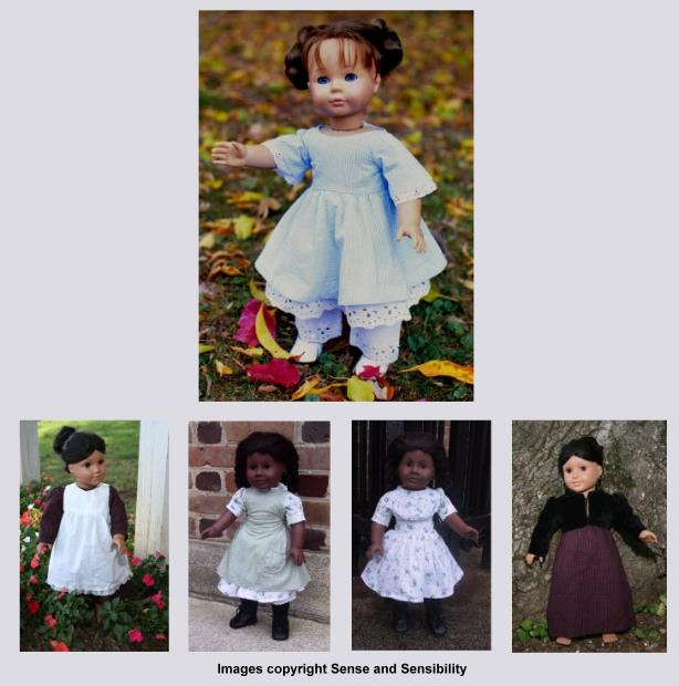 Historical Doll Clothes Patterns-historical doll clothes, doll patterns, american girl patterns, patterns for american girls