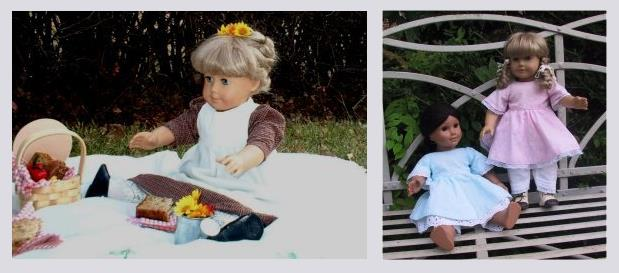 Historical Doll Clothes Patterns