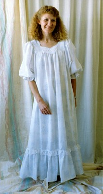 Elizabeth Lee Sweetheart Nursing Nightgown-Elizabeth Lee Sweetheart Nursing Nightgown