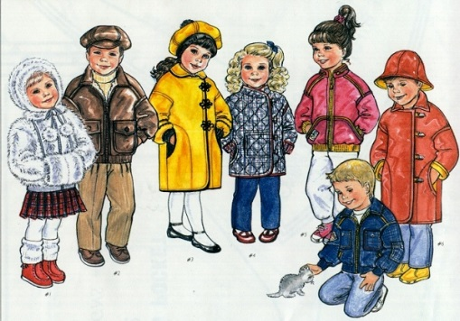 It's a Wrap - Children's Coats sizes 2-6