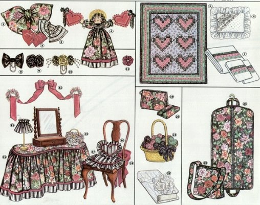 Personals - Home Decor Pattern
