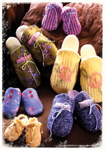 Spa Slip-On Slippers, Infant - Adult Sizes