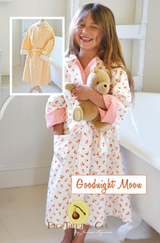 Goodnight Moon - Boys & Girls Robe, sizes 5-10-Goodnight Moon - Girls Robe, sizes 5-10