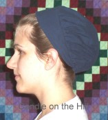 Gathered Bonnet Pattern-gathered bonnet, headcovering, head cover, prayer kapp, prayer cap, bonnet pattern, bonnet patterns,