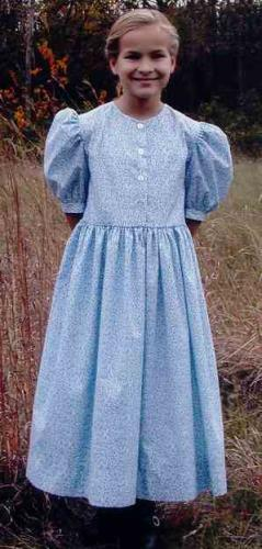 Girls Button Dress Pattern-country classic, girls button dress, pattern, pattern for, sewing, dress, girls, pockets,