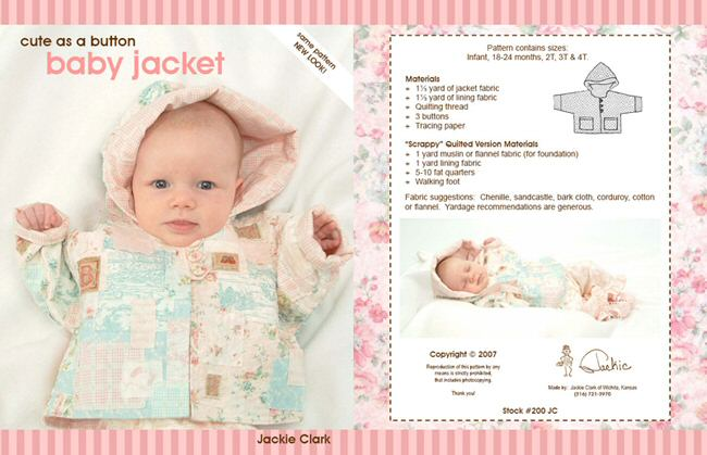 Baby Jacket by Jackie Clark