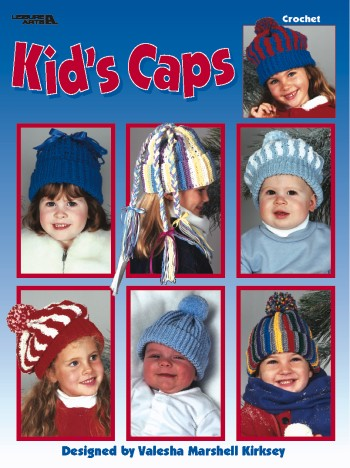 Kids Caps Crochet Pattern