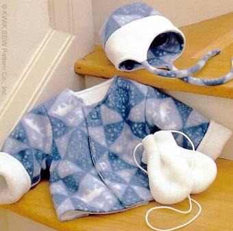 Kwik Sew® Babies Jacket, Hat, & Mittens