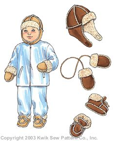 Kwik Sew® Baby & Toddler Hat, Mittens & Slippers