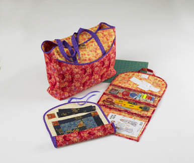 Kwik Sew� Craft Bag, Quilt Roll and Organizer