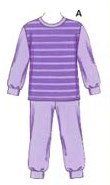 Kwik Sew® Toddlers Stretch Knit Pajamas Sizes 1-4