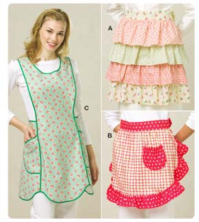 Kwik Sew� Ladies Aprons-Kwik Sew� Ladies Aprons