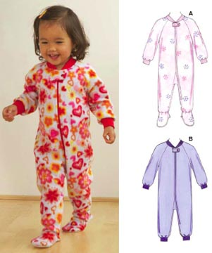 Kwik Sew® Toddler's Sleepers