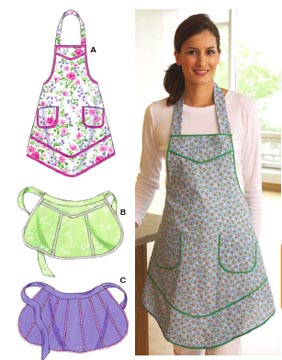 Kwik Sew� Ladies Aprons