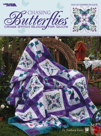Chasing Butterflies / Cross Stitch Quilt-Chasing Butterflies / Cross Stitch Quilt