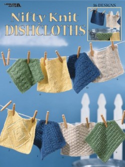 Nifty Knit Dishcloths - 16 designs to knit