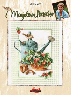 Spring Joy Cross Stitch by Marjolein Bastin