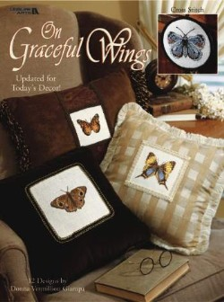 On Graceful Wings - 12 cross stitch designs