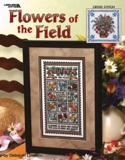 Flowers of the Field - cross stitch