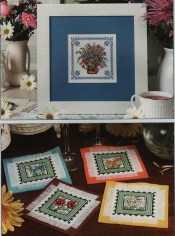 Flowers of the Field - cross stitch