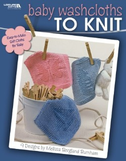 Baby Washcloths to Knit - 9 designs