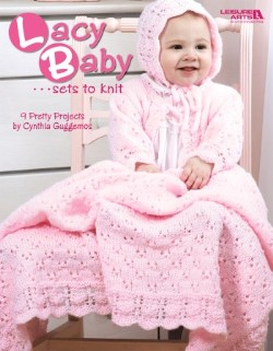Lacy Baby Sets to Knit - 3 designs-Lacy Baby Sets to Knit - 3 designs