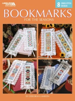 8 Bookmarks for the Seasons Cross Stitch