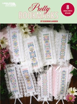 8 Pretty Bookmarks Cross Stitch Designs