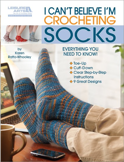 I Can't Believe I'm Crocheting Socks!