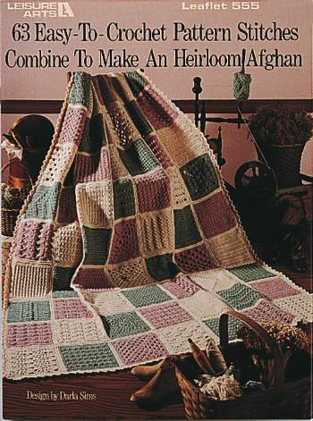 63 Easy-To-Crochet Pattern Stitches-63 Easy-To-Crochet Pattern Stitches