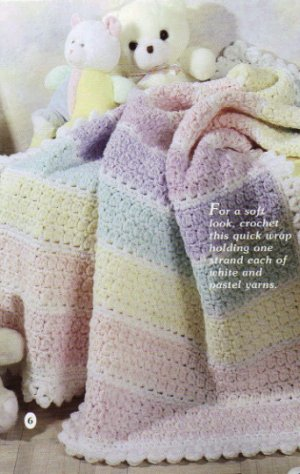 Snuggle Time Baby Afghans - 8 projects to Knit & Crochet