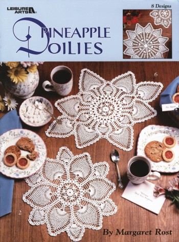 Pineapple Doilies - Crochet-Pineapple Doilies - Crochet