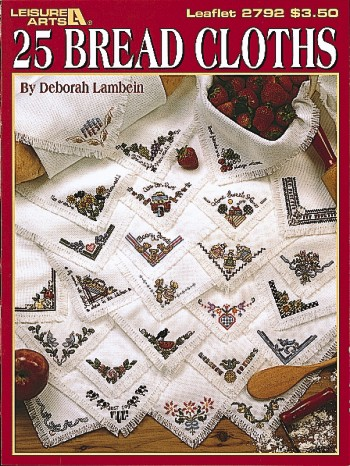 25 Breadcloths to Cross Stitch